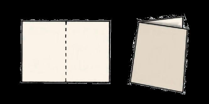 Resultado de imagen de folios doblados en cuadernillo